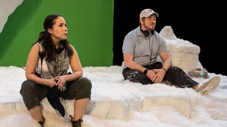 Rosal Colon plays Maria and Darren Goldstein portrays