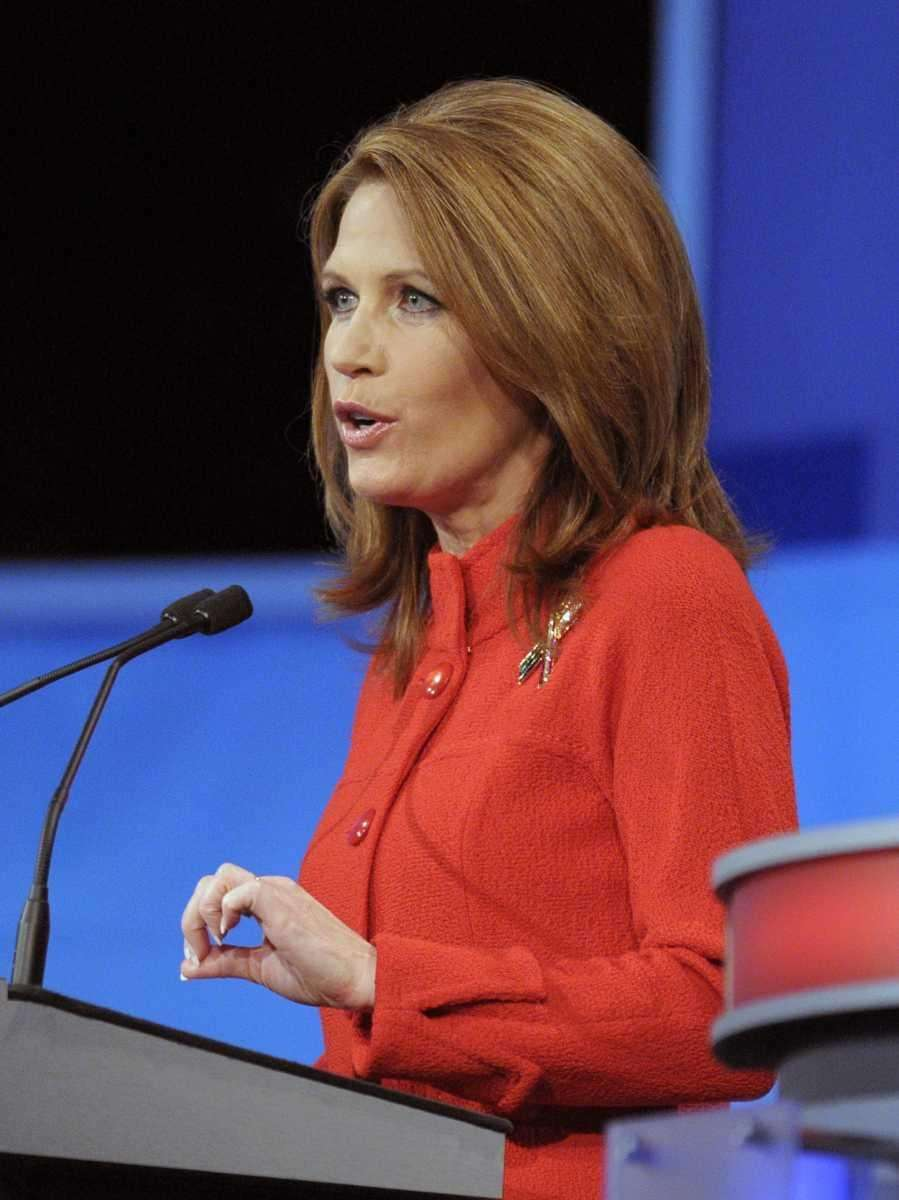 Republican presidential candidate Rep. Michele Bachmann (R-Minn.) speaks