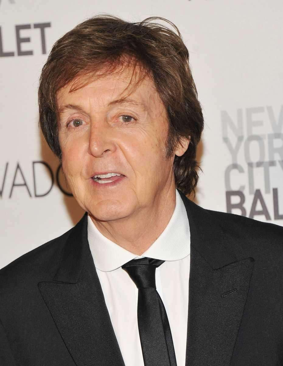 Sir Paul at the 2011 New York City