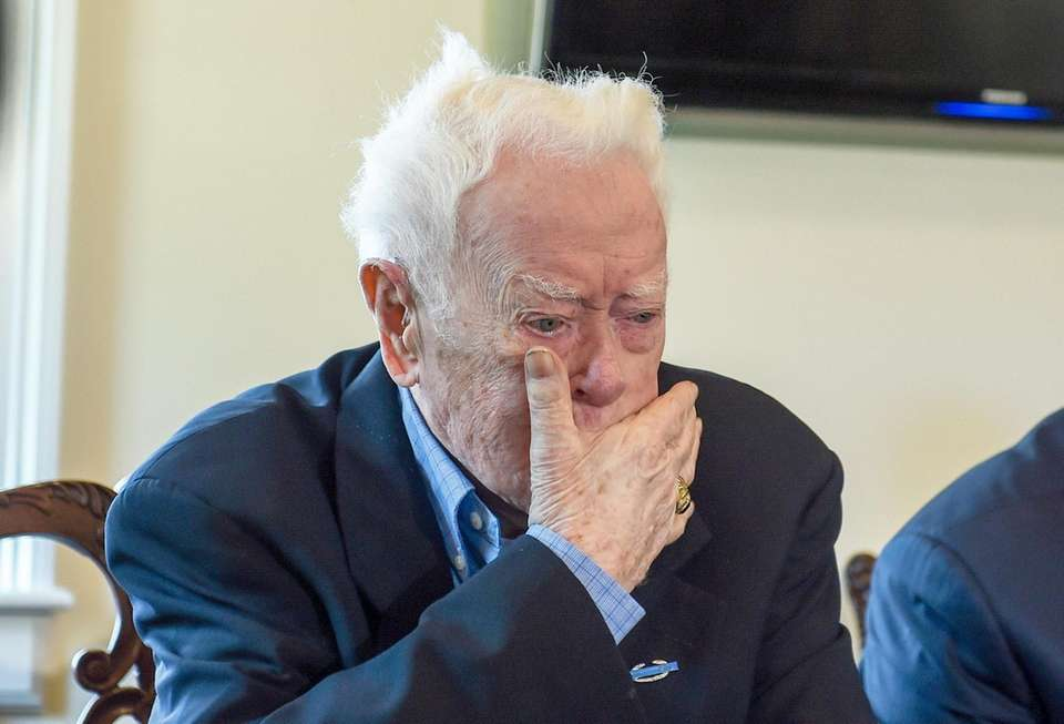 John McHugh, 95, of Whitestone, Queens, a U.S.