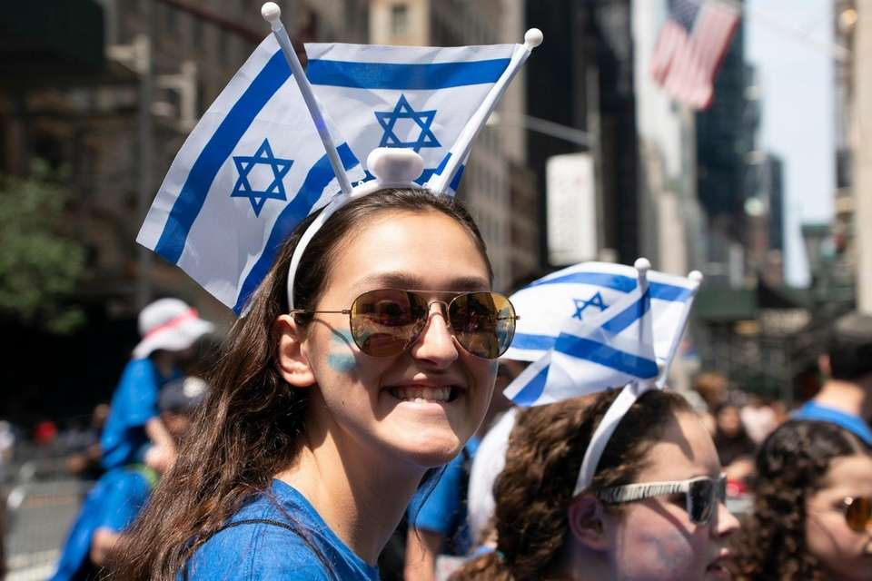 The 55th annual Celebrate Israel Parade makes its