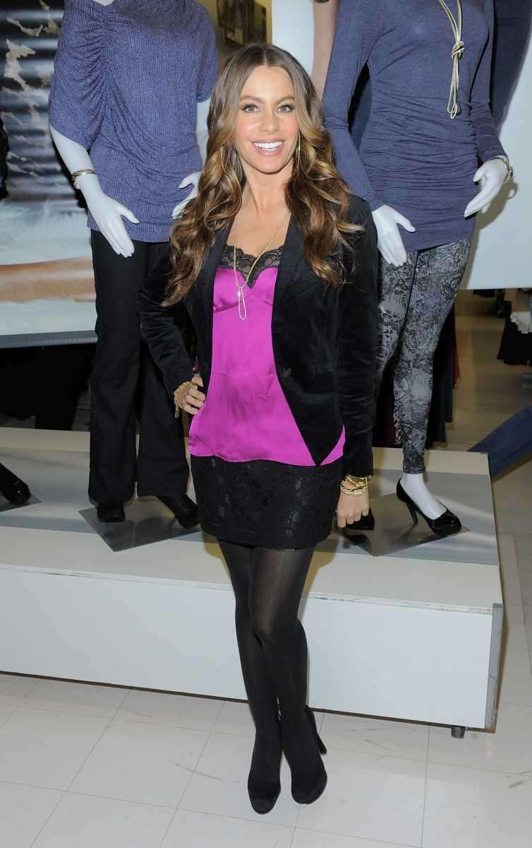 Actress Sofia Vergara attends the launch of her