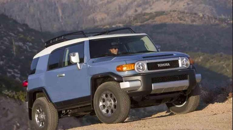 According to Insurance.com, 28.4 percent of Toyota FJ