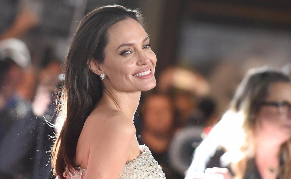 Angelina Jolie and husband Brad Pitt have three
