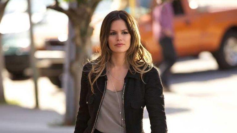 Rachel Bilson as Dr. Zoe Hart in The