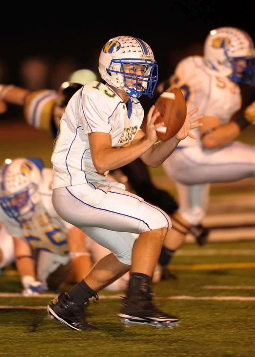 West Islip's Anthony Santo (15) pitches the ball