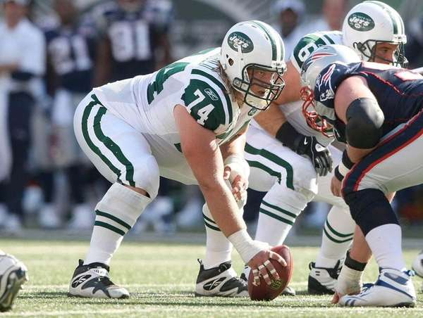 Undated file photo of Nick Mangold.