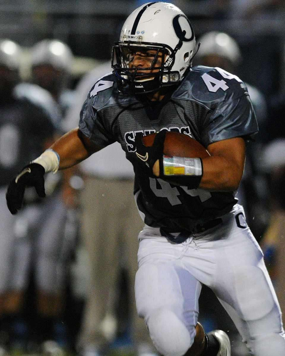 Oceanside High School running back #44 Shane Sauicer