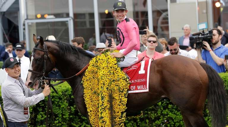 Tyler Gaffalione aboard War of Will in the
