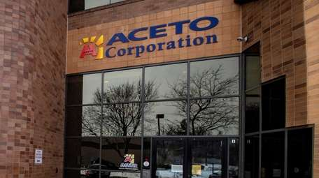 The president and CEO of Aceto Corp. in