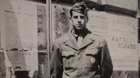Blum in uniform during World War II.