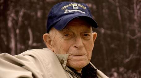 David Wolman, of Centereach, helped organize formations of