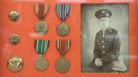 A photo of Wolman during World War II