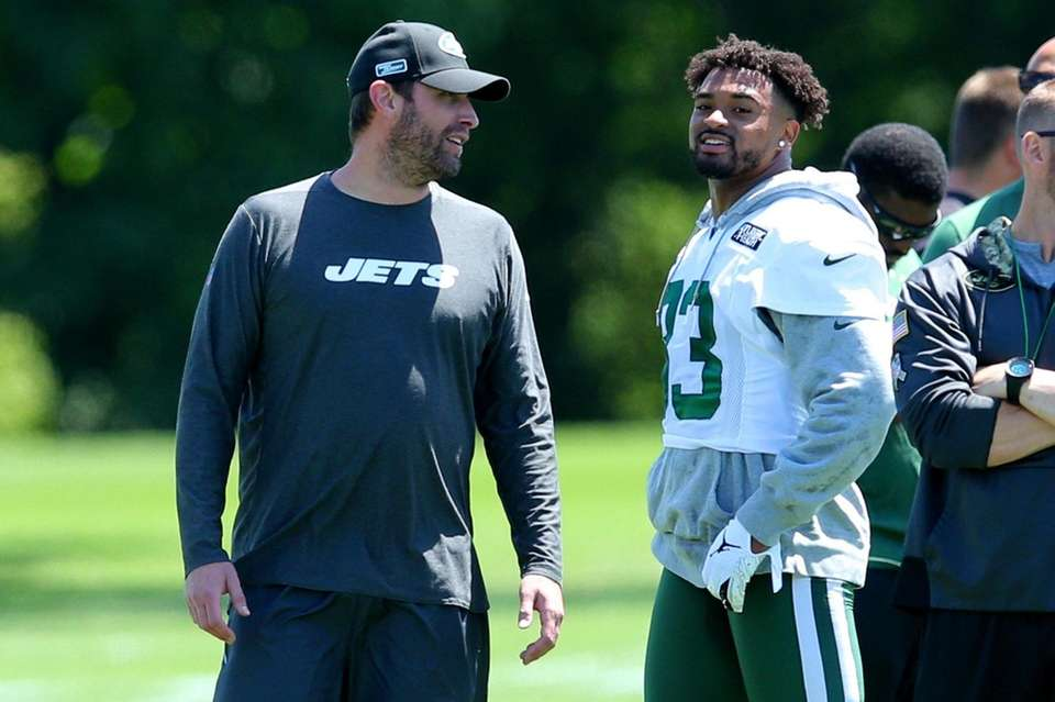 New York Jets head coach Adam Gase talks
