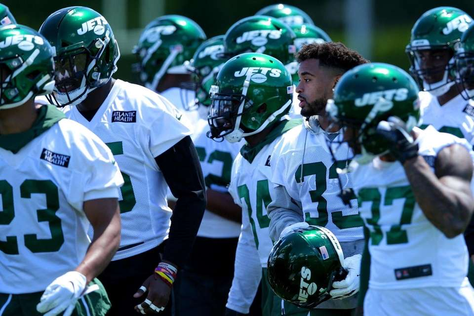 New York Jets safety Jamal Adams (33) walks