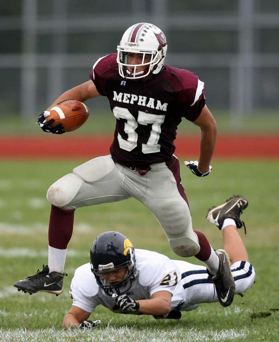 Mepham takes on Jericho in a Nassau Conference