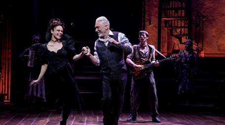 """Amber Gray and Patrick Page star in """"Hadestown,"""""""