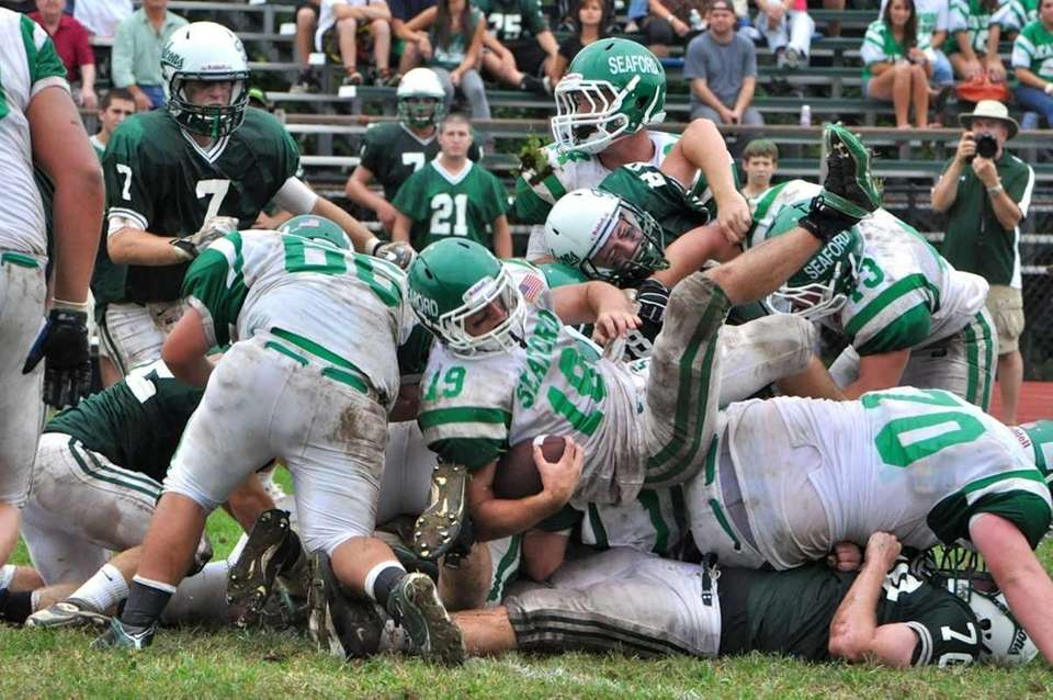 Seaford could not get their offense going in