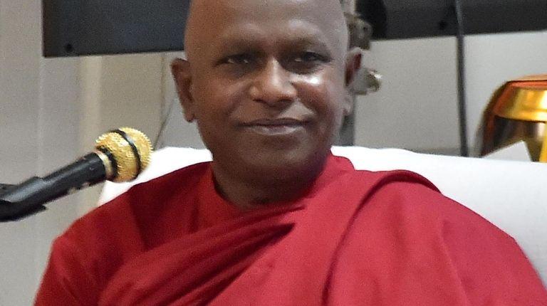 Bhante Kottawe Nanda, head monk, of the Long