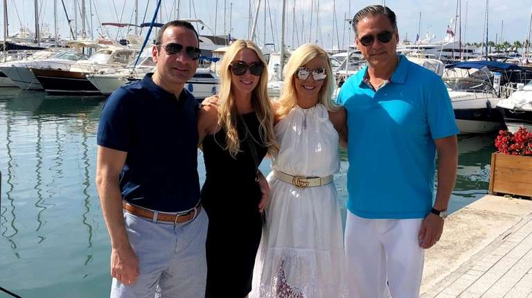 "Two Long Island couples guested on Bravo's ""Below"