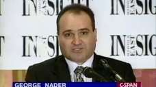 George Nader in a 1998 C-SPAN interview.