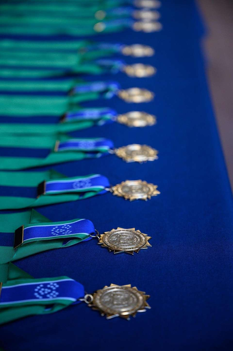 Medals awarded Tuesday at the NYPD Medal Day