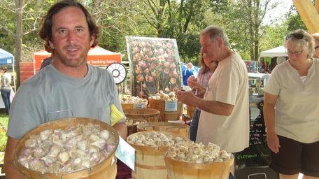 Chris Kaplan, co-owner of Garden of Eve Organic