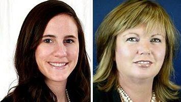 Lauren Rachel Flanagan and Tricia Dwyer-Johnston