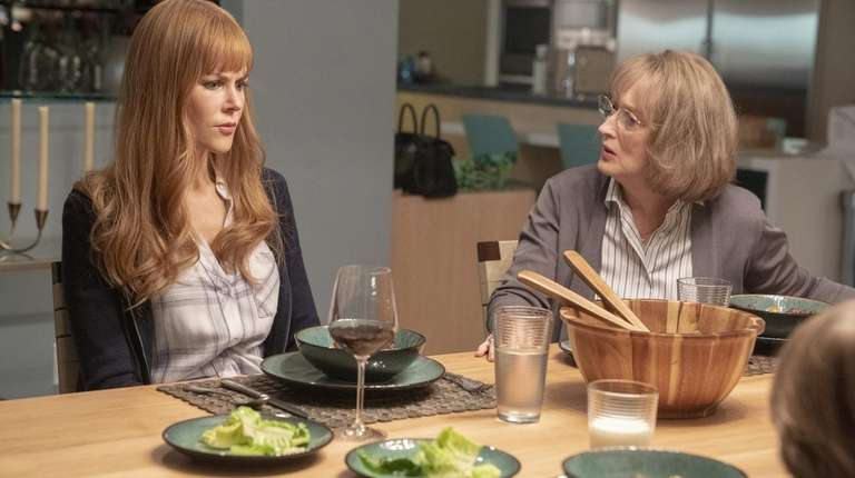 Nicole Kidman and Meryl Streep in HBO's Season