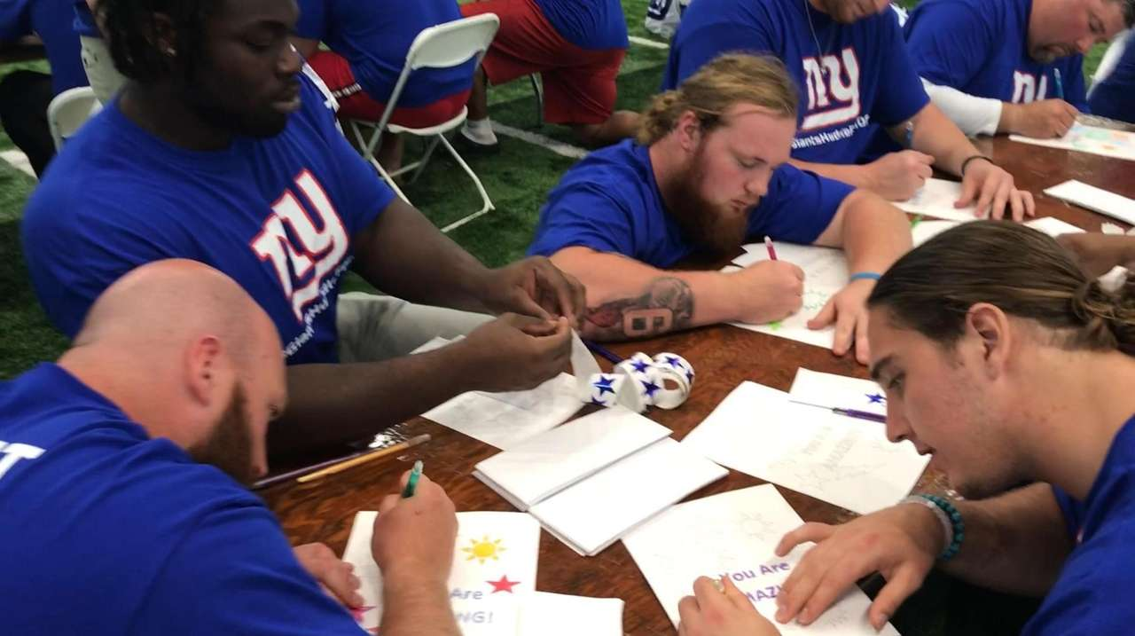 The entire Giants organization -- from players and