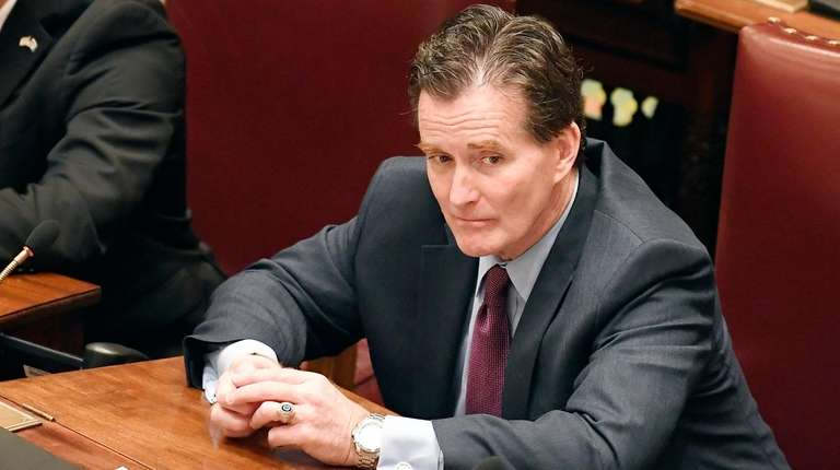 State Senate Minority Leader John Flanagan (R-Smithtown) on