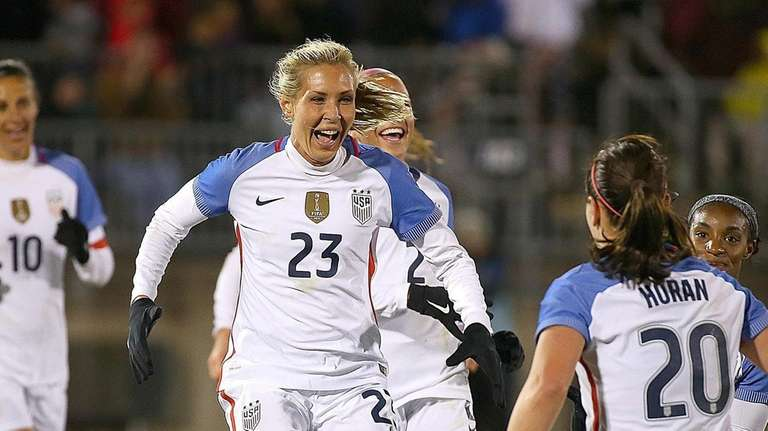 Allie Long #23 of United States of America