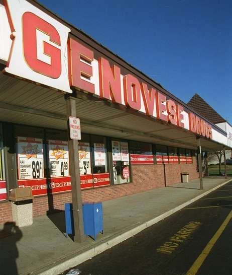 Exterior of the Genovese Drugs in East Farmingdale