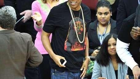 In this undated photo, Jay-Z attends the Los