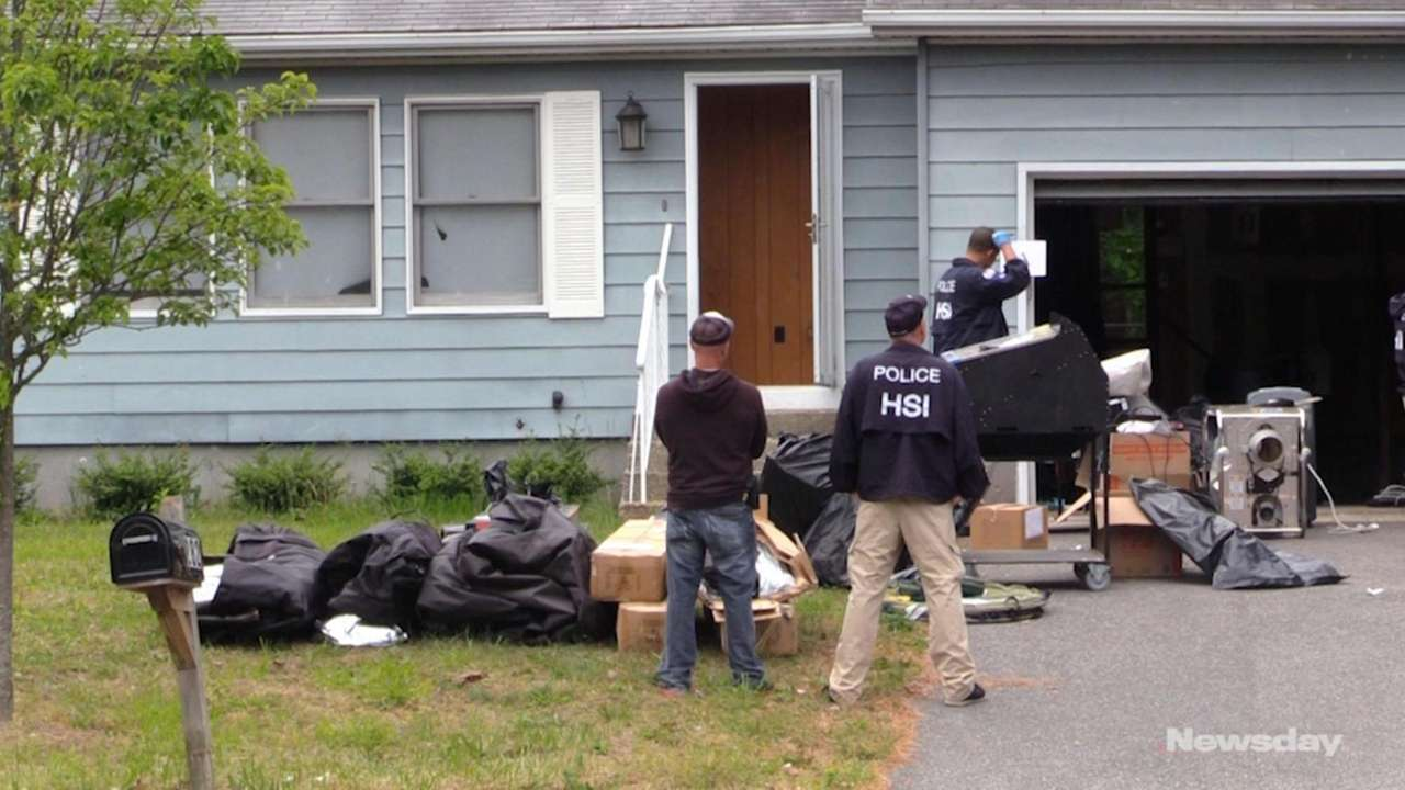 On Wednesday morning, federal and local authorities raided
