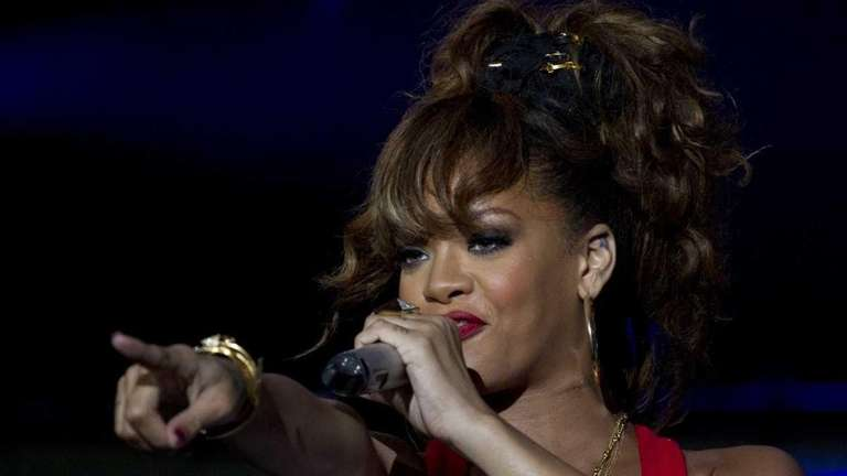 Rihanna performs during the Rock in Rio music