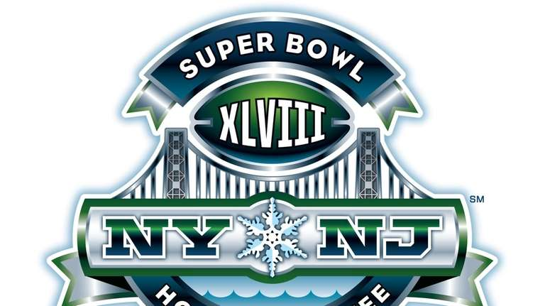 The logo for Super Bowl XLVIII in 2014