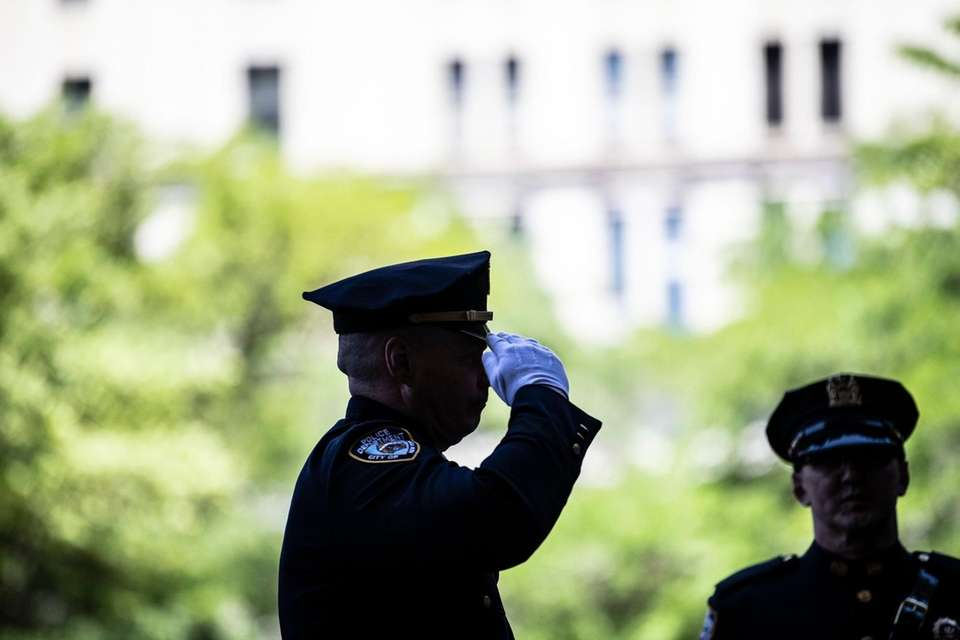Medal Day Ceremony at One Police Plaza, Tuesday