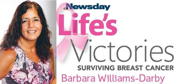 """Doing a self-examination saved my life."" - Barbara"