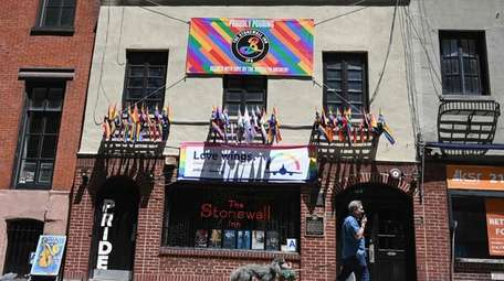 The Stonewall Inn on Christopher Street in Greenwich