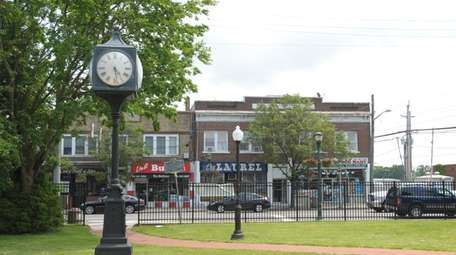 Clock Tower Park is by the Northport Long
