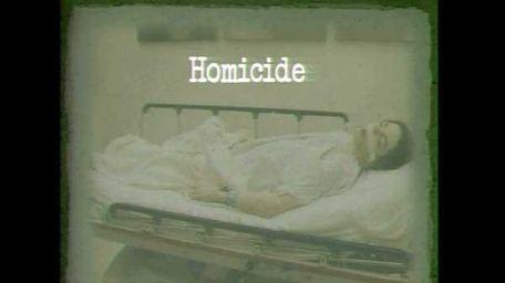 Michael Jackson shown lying on a hospital gurney