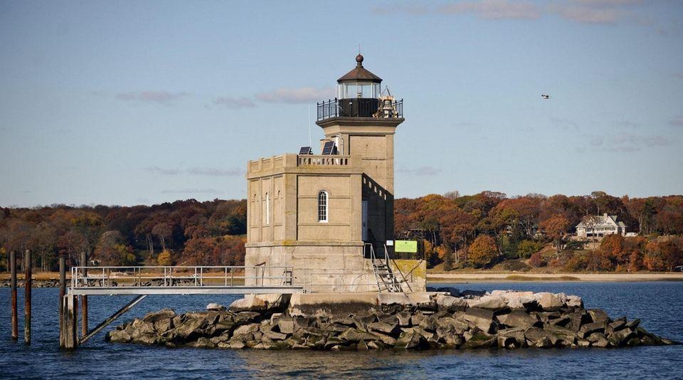 The Huntington Harbor Lighthouse formerly known as Lloyd