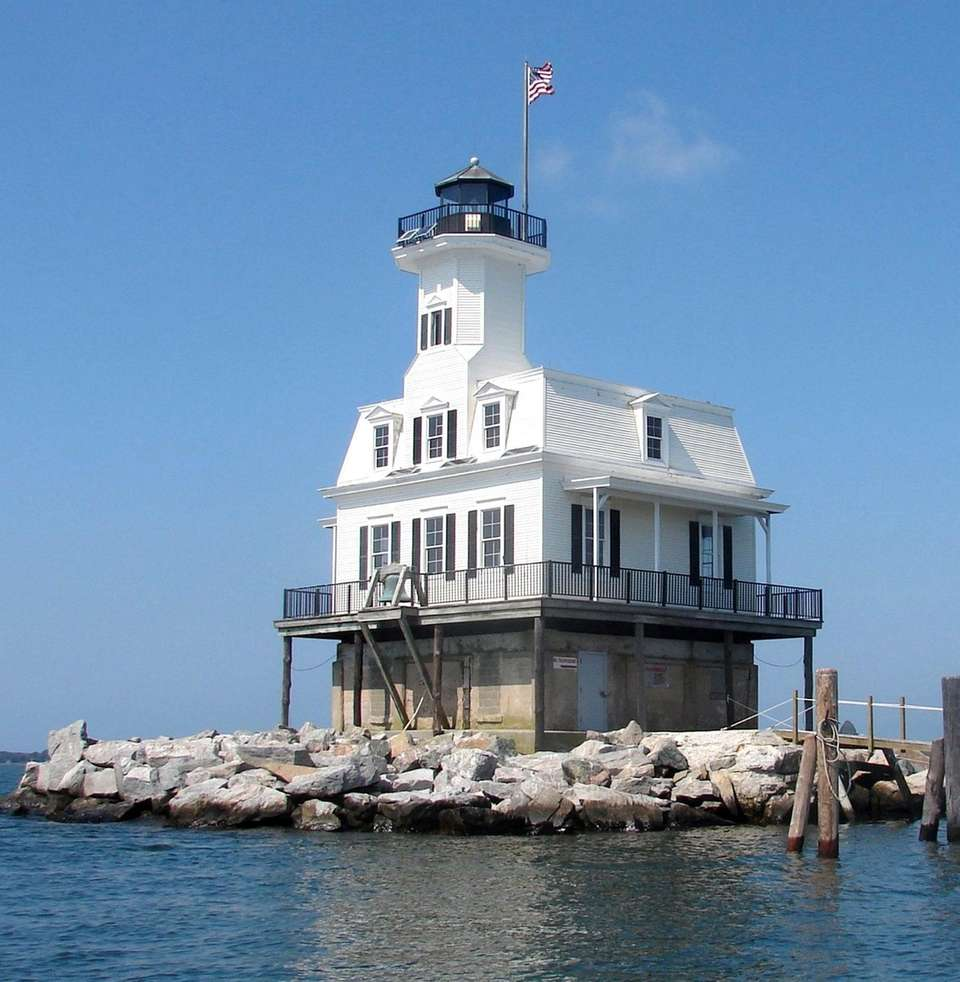 """The """"Bug Light"""" lighthouse --also known as Long"""