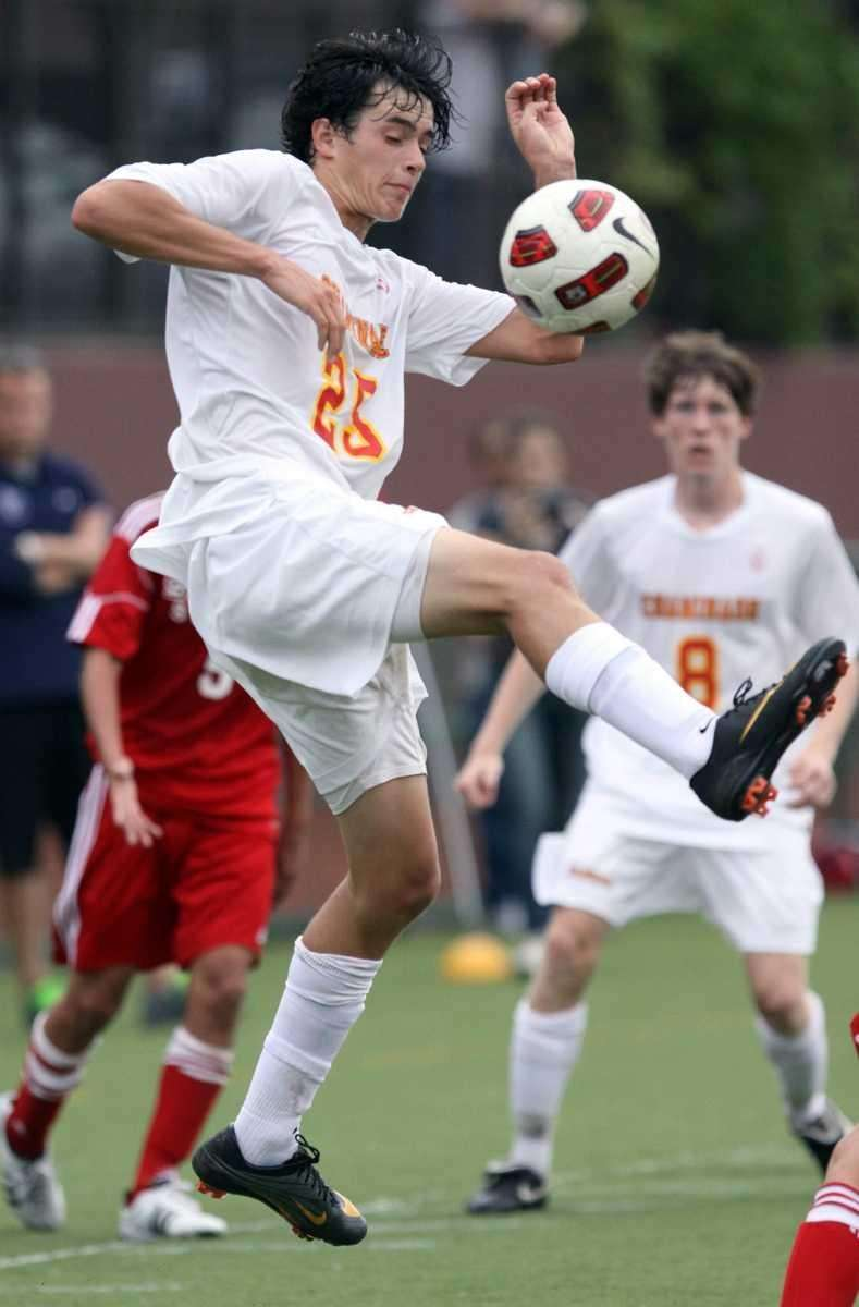 Chaminade's Joseph Randazzo with the ball during the