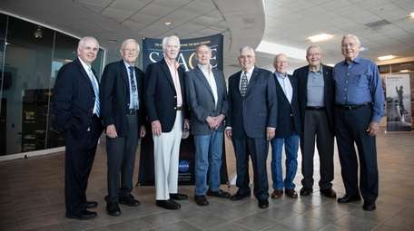 Former members of the Apollo missions participate the