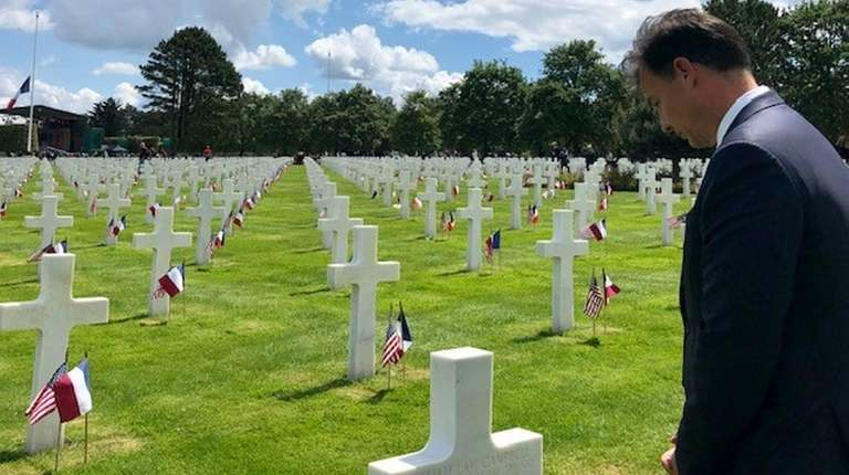Two LI congressmen mark D-Day in Normandy