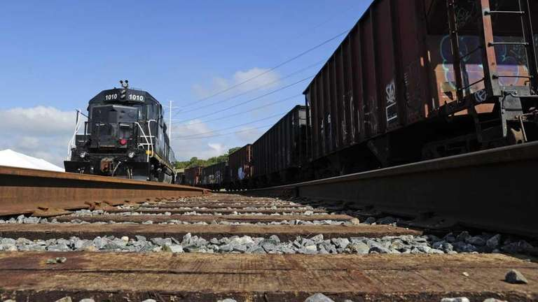 The 28-acre Brookhaven Rail Terminal on Sills Road,