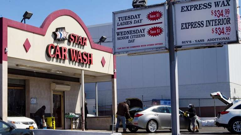 5 Star Car Wash in Elmont on March