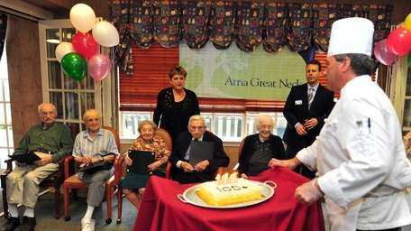 The Atria held a birthday party for six